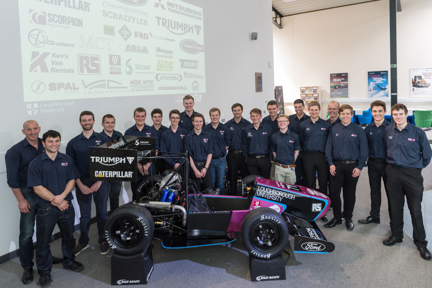 Formula Student 2017 Car Launch