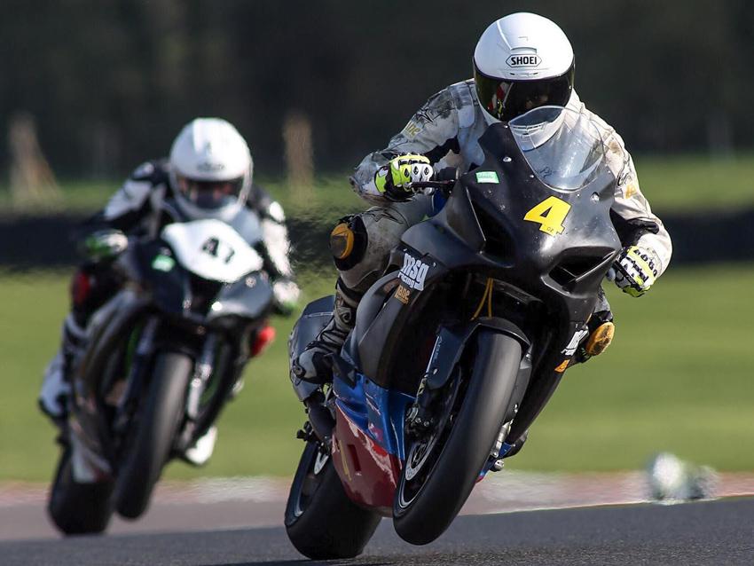 Lane Motorsport racer Sam Osborne at Oulton Park