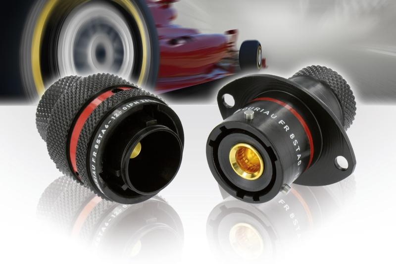 Souriau 8STA Power High Motorsport Connectors
