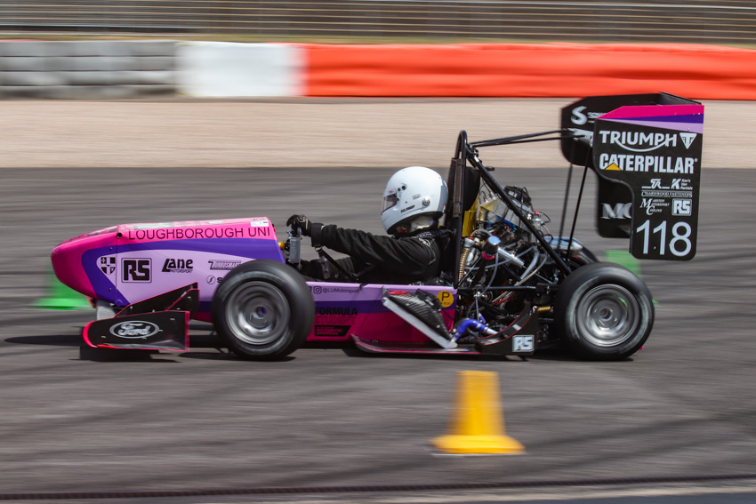Loughborough's Formula Student car