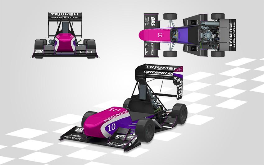 LuMotorsport LFS2019 Student Formula Car