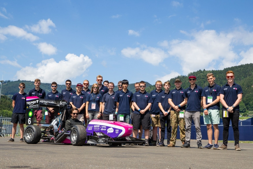 LuMotorsport Formula Student Team sponsored by Lane Motorsport