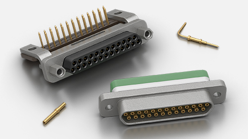 Souriau microComp Rectangular Connectors